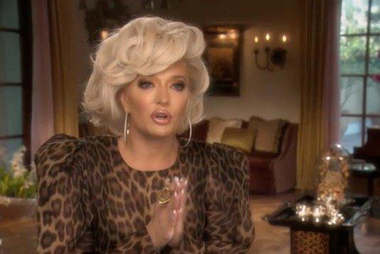 """Picture for Erika Jayne Calls Herself A """"Rich Crook"""" In Resurfaced Clip From 2018"""