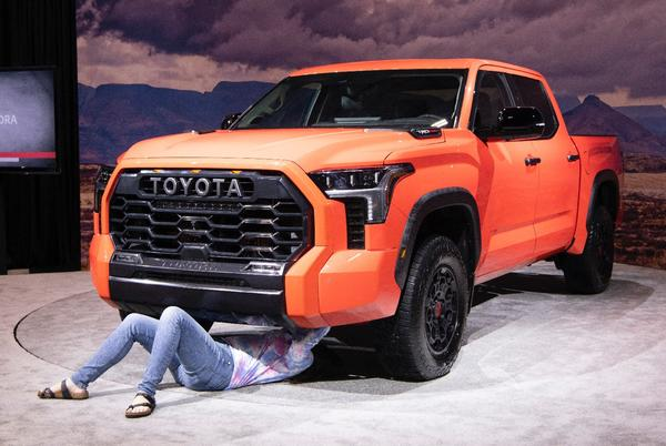 Picture for 2022 Toyota Tundra Hands-On Impressions: Let's Nerd Out With a Pre-Production Truck