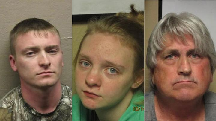 Cover for 3 Missouri suspects held in Illinois woman's gruesome death, dismemberment