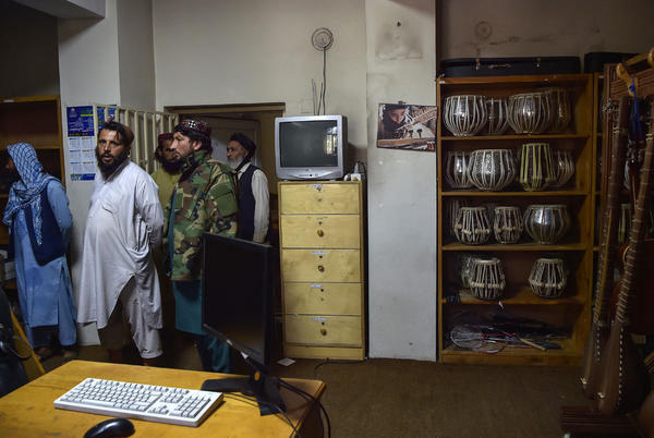 Picture for Taliban Breaking Instruments, Ordering Customers From Karaoke Parlors in Latest Crackdown