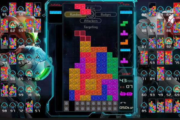 Picture for You can earn a cool Metroid Dread theme in Tetris 99 this week