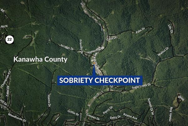Picture for West Virginia State Police to conduct sobriety checks on Friday in Kanawha County