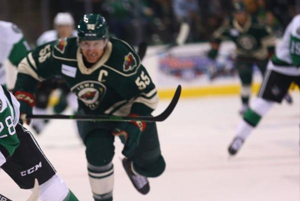 Picture for Stars Blanked by Wild in Season Opener