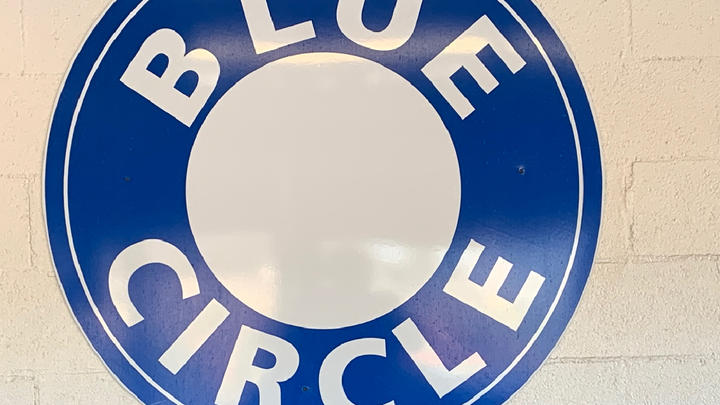 Cover for A Courageous Resurrection of Bristol Tennessee's Cherished Blue Circle