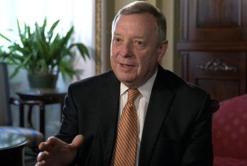 Picture for Durbin: Pandemic won't end until unvaccinated 'accept their responsibility'