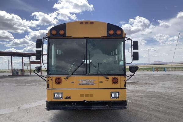 Picture for Authorities investigating accident involving school bus, pedestrian