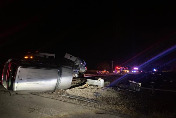 Picture for Amtrak Train From Fort Worth Crashes In Oklahoma, Four Hurt