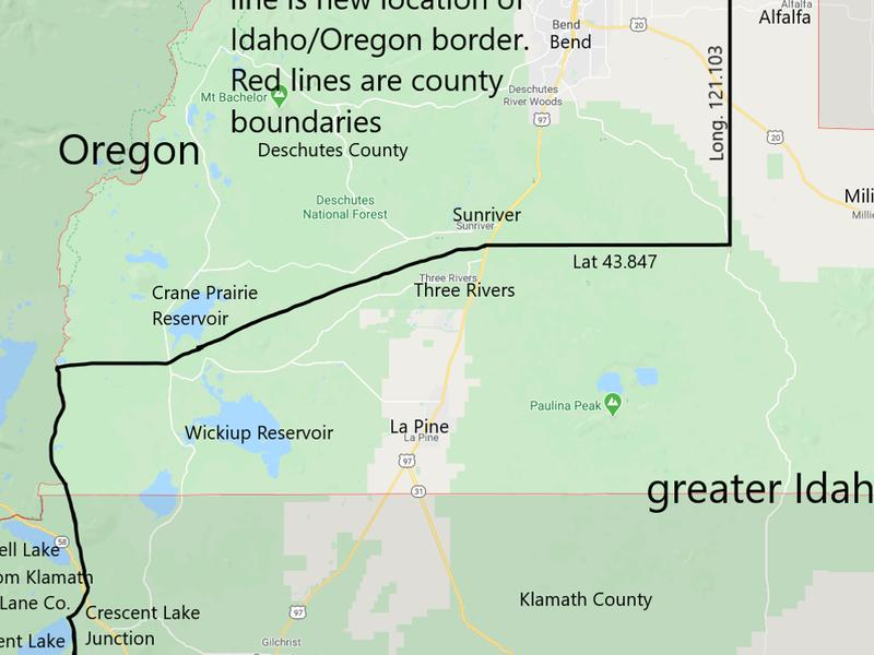 'Move Oregon's Border for a Greater Idaho' movement to go on ballot in May | News Break