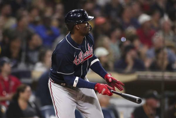 Picture for Soler, Braves win 10-8 in 10 innings to eliminate Padres