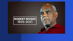 Cover for Harlem-borne civil rights legend Bob Moses dies at age 86