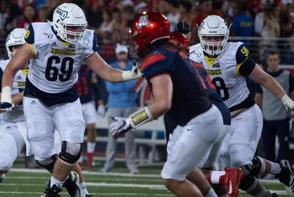 Picture for NAU's game in Tucson a homecoming for local players