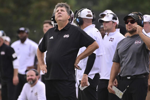 Picture for Mike Leach seemingly confirms our suspicions about LSU football