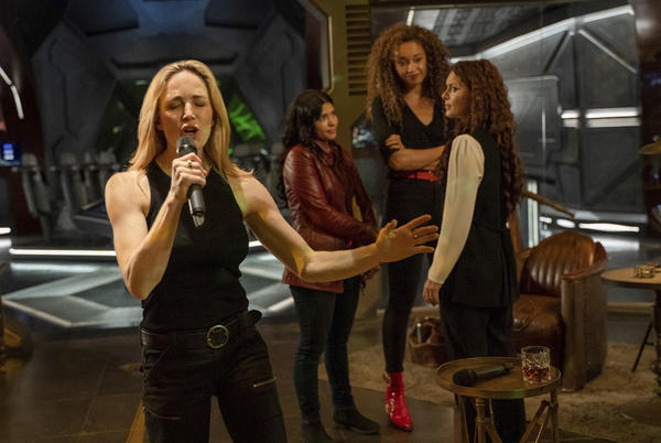 Picture for Legends of Tomorrow's Caity Lotz shares behind-the-scenes secrets from the 100th episode
