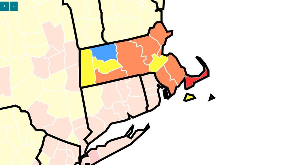 Picture for Which Massachusetts counties are 'high-risk' for COVID-19 transmission?