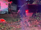 Picture for Vehicle crashes into yard after Iowa State Patrol pursuit late Saturday