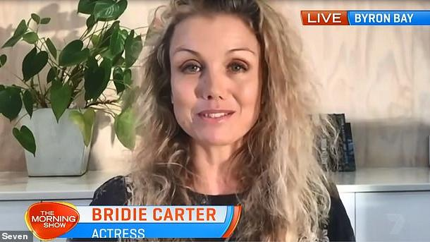 Picture for McLeod's Daughters star Bridie Carter reveals the devastating impact the NSW floods have had on her Byron Bay property