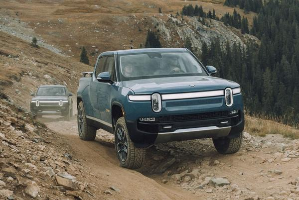 Picture for 2022 Rivian R1T first drive review: Electric pickup tackles the trail