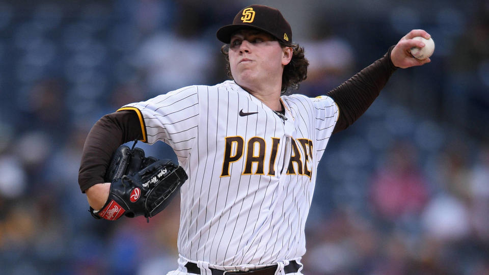 Picture for Padres option former first-round pick Ryan Weathers to Triple-A