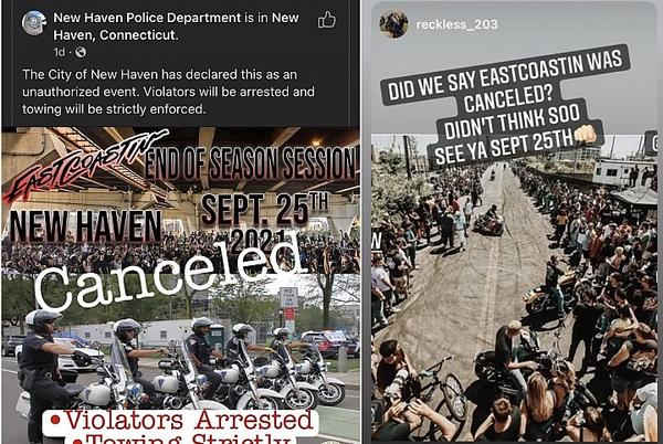 """Picture for Motorcyclists Rev Up For """"Canceled"""" Event"""