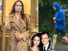 Picture for Angelina Jolie pays secret visit to ex-husband Jonny Lee Miller's NYC apartment after losing custody war with Brad Pitt