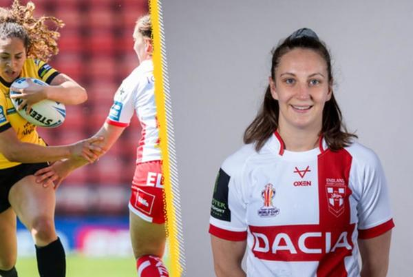 Picture for France v England: Savannah Andrade and Rachael Woosey to make debuts