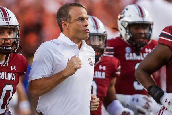 Picture for Shane Beamer reveals who South Carolina's starting quarterback will be at Texas A&M