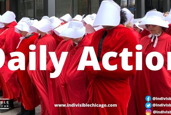 Picture for Friday, September 17 - Illinois Handmaids Rally for Texas / Vote NO on Chicago's Streetgang Terrorism Prevention Ordinance