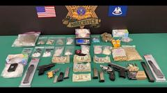 Cover for Deputies seize trove of illegal drugs, guns from alleged dealer