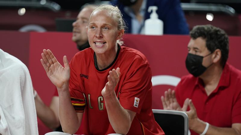 Picture for Belgium hoop icon Ann Wauters enjoys first Olympic at age 40