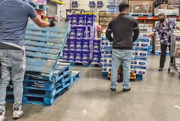 Picture for Costco Limits Water, Toilet Paper, Other Purchases Due To Supply Chain Delays