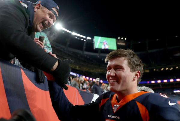 Picture for Here's what Drew Lock's dad tweeted during the Broncos-Raiders game