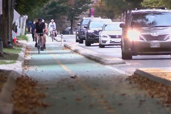Picture for Bike lanes or parking spots? Mayor Bowser hears from both sides in Ward 3