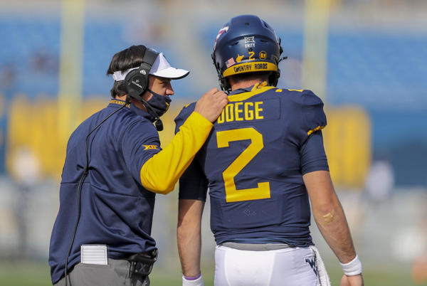 Picture for Sloppy Second Half Deals WVU Football Second Loss at Oklahoma