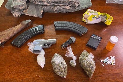 Picture for Mississippi fugitive arrested with meth, marijuana, ecstasy, loaded gun