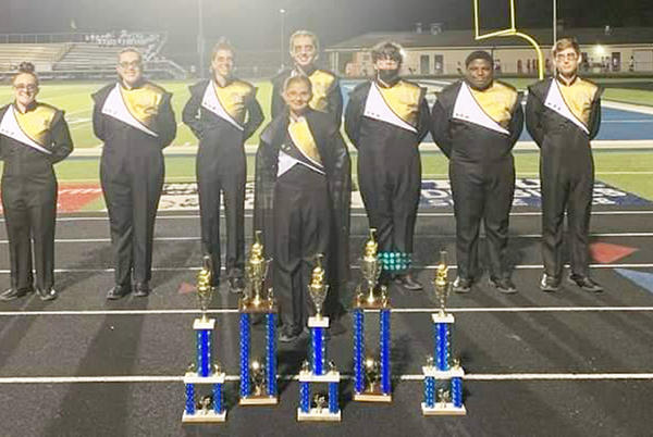 Picture for Sounds of March: Early success for MCHS Marching Band