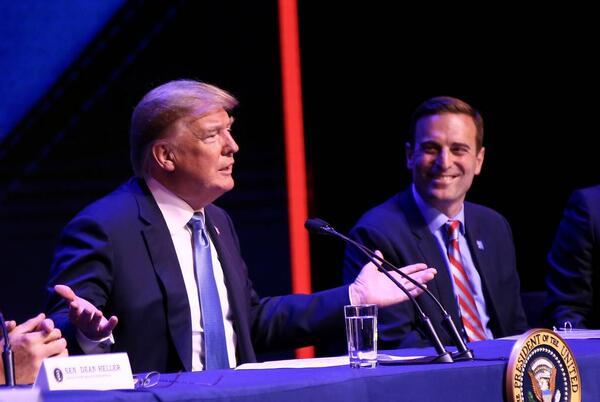 Picture for Major GOP backer urges Trump to drop Laxalt