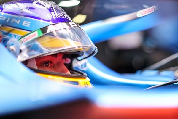 """Picture for Alonso: """"Austin one of the most challenging tracks on the calendar"""" 