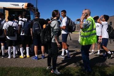 Picture for 'We're all scrambling': Bus, official shortages hit Minnesota high school sports hard