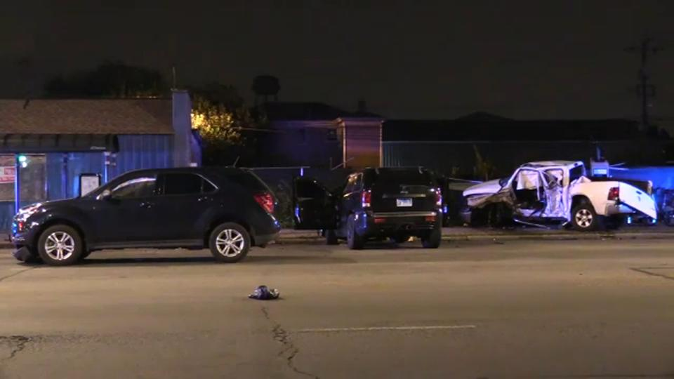 Picture for Englewood hit-and-run leaves man dead, female passenger critically injured, CPD says