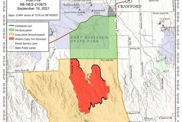 Picture for Post Fire Update: 15% contained