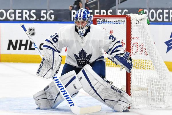 Picture for Maple Leafs' Jack Campbell Ready to Prove He's No Fluke