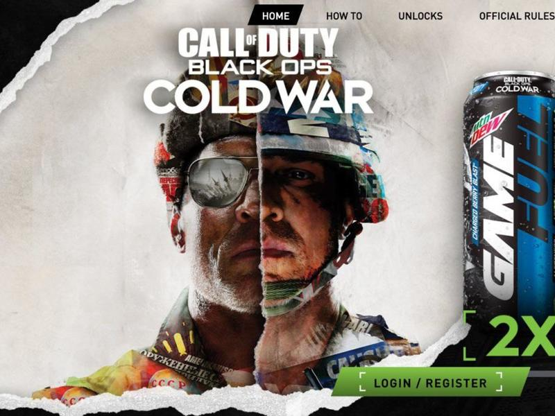 Black Ops Cold War Weapon Charms Confirmed Along With Mountain Dew Doritos Tie In News Break