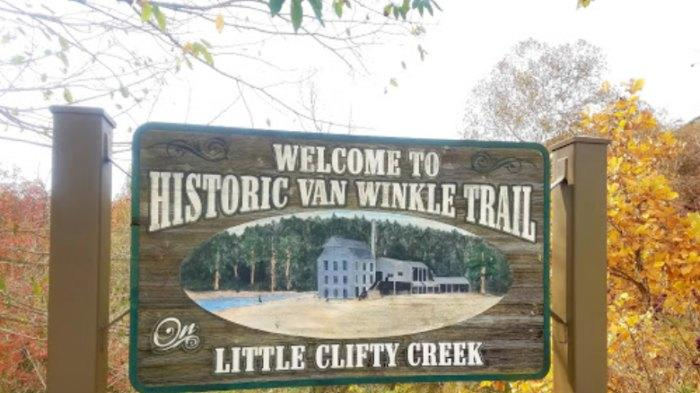 Cover for A Mysterious Woodland Trail In Arkansas Will Take You To The Van Winkle Ruins