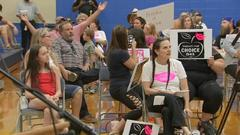 Cover for District 45 school board ends face masks meeting without vote after reported physical altercation