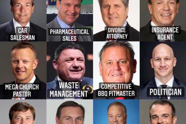 Picture for If SEC coaches had a career other than coaching...