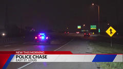 Cover for Metro East high-speed police chase ends when driver crosses into Missouri