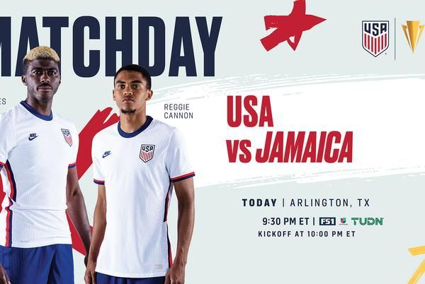 Picture for 2021 Concacaf Gold Cup USA vs Jamaica - Preview, Schedule, TV Channels, Start Time