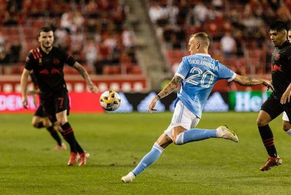 Picture for Red Bulls get last-second draw vs. NYCFC after review gives handball