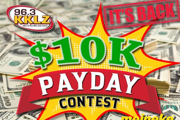 Picture for $10-K Payday Contest