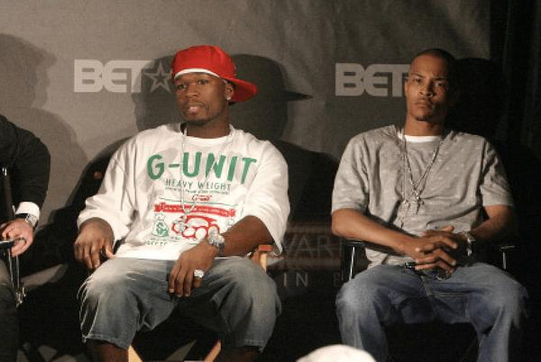 Picture for T.I. Called 50 Cent Out At The 'BMF' Premiere For A Verzuz!